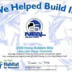 2009 Home Builders Blitz HFH